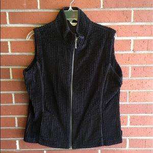 Woolrich Black Zip-up Vest
